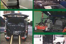 Autos adaptados discapacidad Argentina Comandos Ortopédicos HD