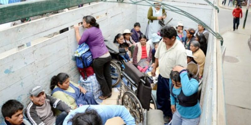 Bono de solidaridad de Bolivia se cobra con algunas dificultades