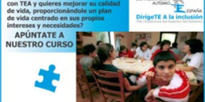 Autismo España programa formativo para familias de personas con TEA