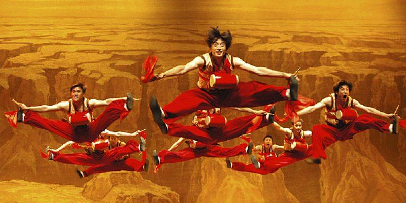 Discapacidad y danza Espectáculo de artistas chinos con discapacidad