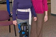 Pierna biónica para rehabilitación de pacientes con ACV