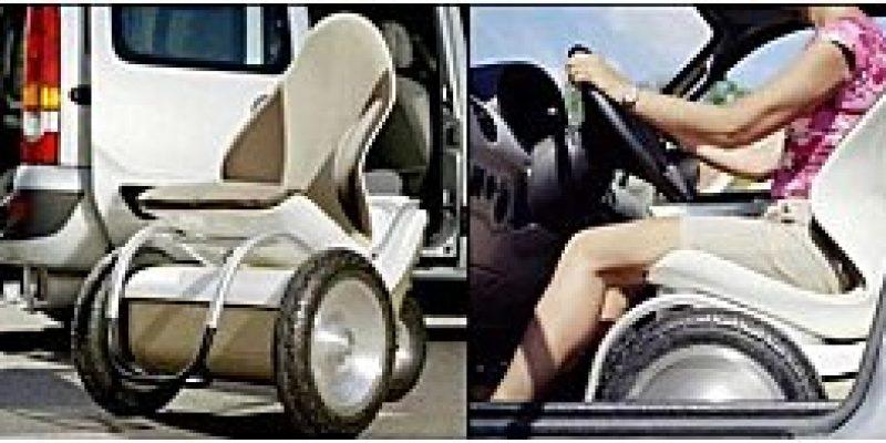 Concepto Silla de ruedas eléctrica Movetto PX4