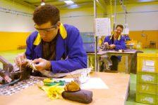 Ley discapacidad Argentina Talleres de producción para trabajadores con discapacidad