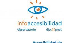 Discapacidad España accesibilidad en portales universitarios