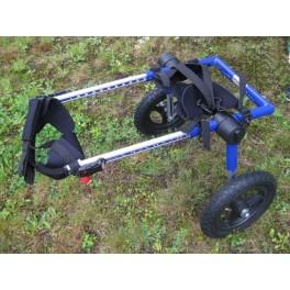Silla de ruedas para perro autoajustable a cualquier tama o - Tamano silla de ruedas ...