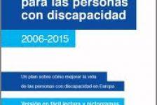 Discapacidad Europa plan de acción 2006 – 2015
