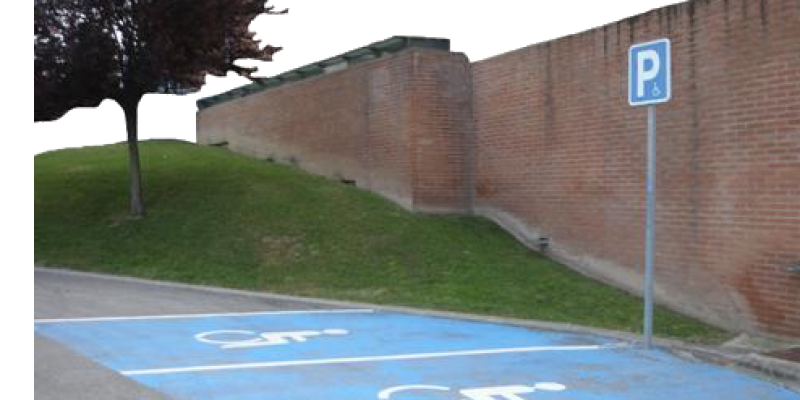 Tarjeta de aparcamiento discapacidad modelo Europeo