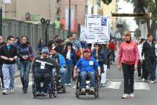 Marcha por los derechos de las personas con discapacidad Lima Perú
