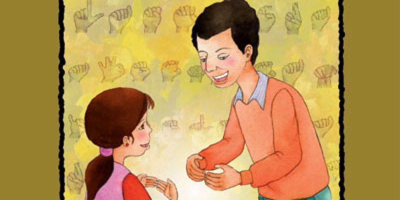 Discapacidad auditiva cuento infantil Para más señas Laura