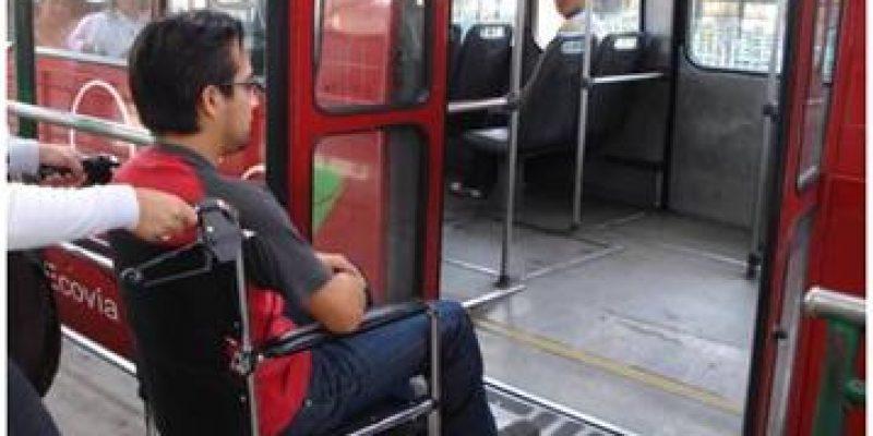 Discapacidad Ecuador Accesibilidad al medio físico