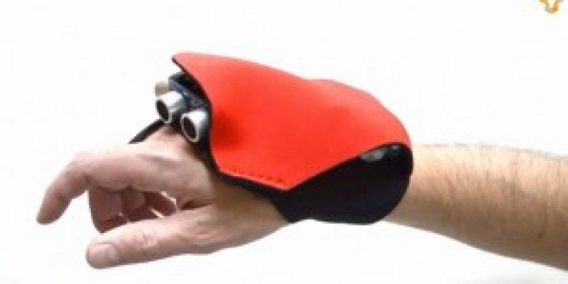 Discapacidad tecnología nuevo guante sonar para ciegos