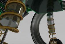 Concepto de silla de ruedas futurista de Thomas Ross & Dave Cochrane