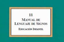 Lengua de signos española guía de educación infantil