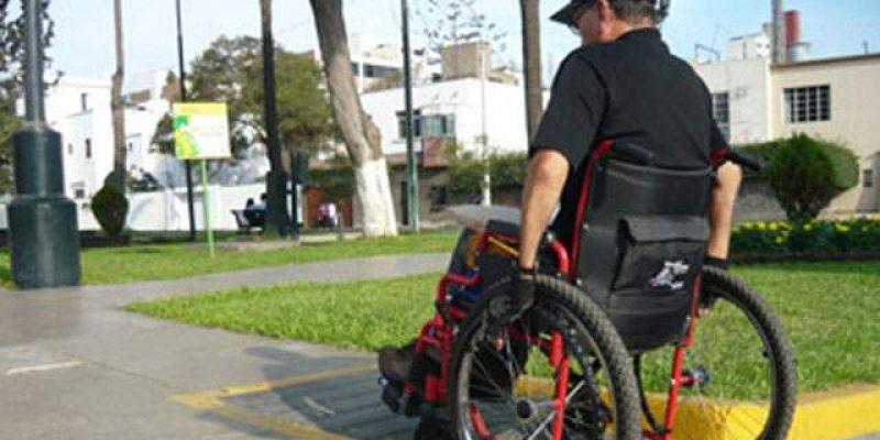 Rampas para discapacitados de Lima peligro en caso de sismo