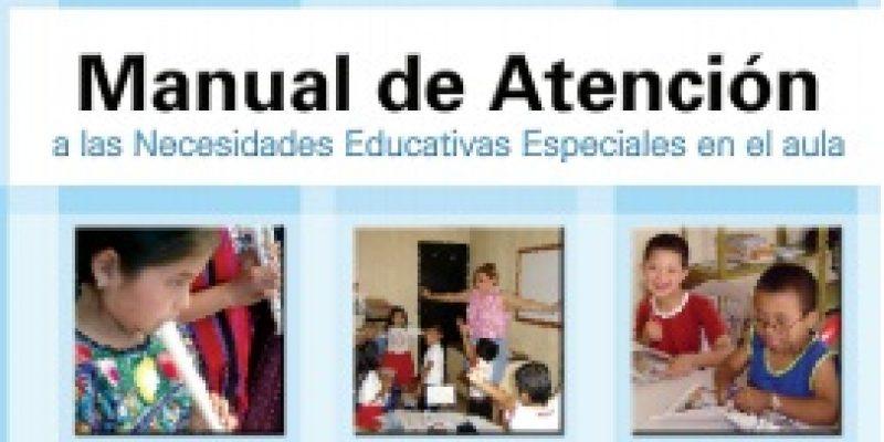 Alumnos con discapacidad Manual de atención educativa