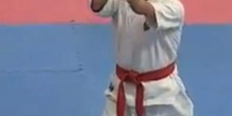 Discapacidad y superación Karateca sin brazos ni piernas