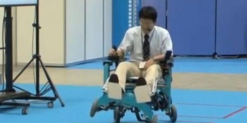 Silla de ruedas robot sube escaleras desarrollan en Japón