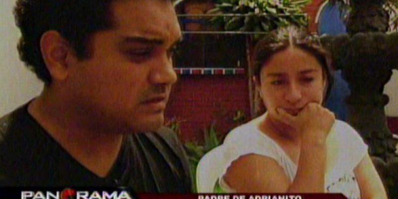Padres de Adrianito el niño mariposa piden perdón entre lágrimas