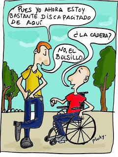 Discapacidad y humor gráfico