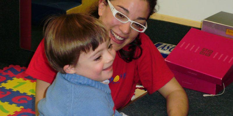 alumnos con síndrome de Down