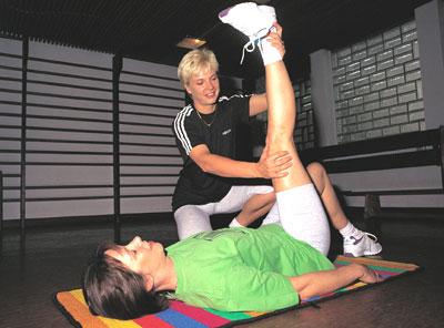 Polio y ejercicios