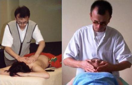 Polio y terapia de masajes