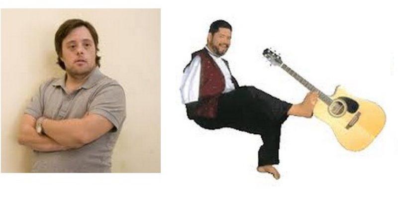 Tony Melendez y Pablo Pineda