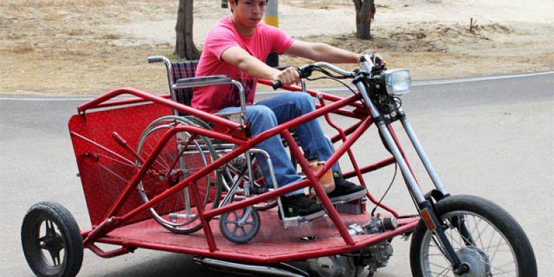 Crean trimoto para personas con discapacidad en Piura Perú