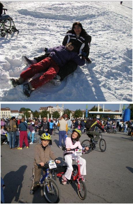 Discapacidad y superación la historia de Ornella