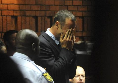 Oscar Pistorius escenas vergonzosas de su vida