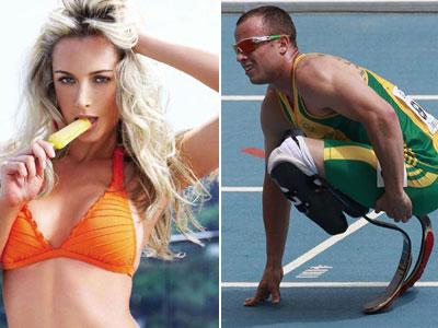 Bate ensangrentado complica situación de Oscar Pistorius
