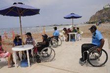 Primera playa para personas con discapacidad se construye en Lima