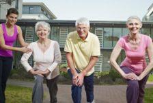 Tercera edad ejercicios para un envejecimiento saludable