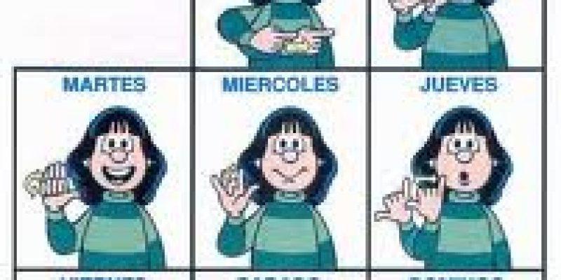 Lengua de señas Argentina manual básico