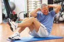 Tercera edad ejercicios para la salud