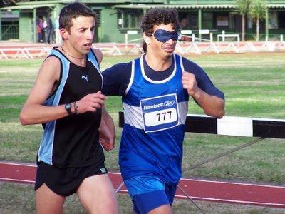 Discapacidad visual actividades físico deportivas