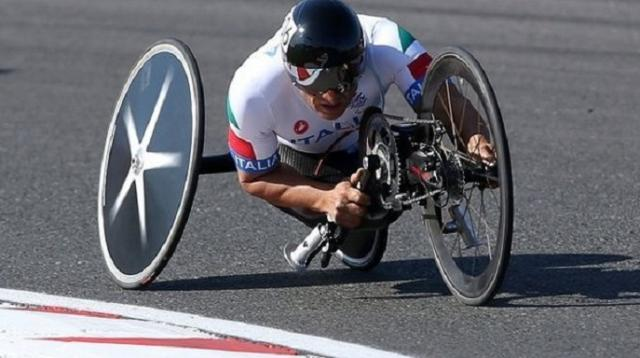 Peruano gana medalla de oro de ciclismo paralímpico