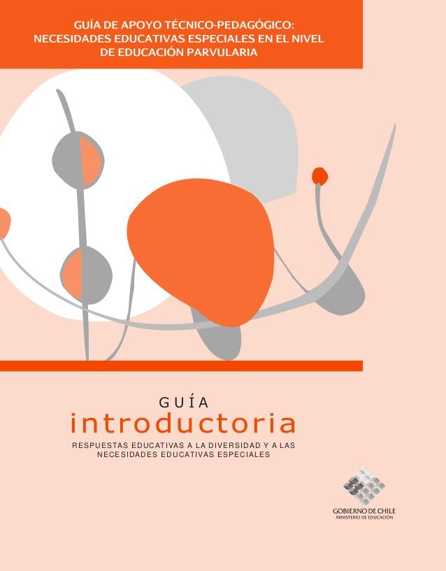 Educación especial preescolar guía introductoria
