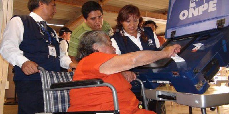 Empadronamiento para personas con discapacidad elecciones municipales Lima