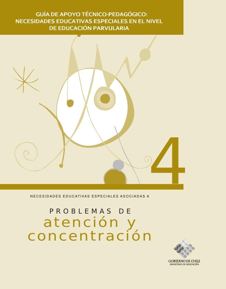 Problemas de atención y concentración
