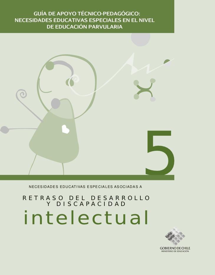 Retraso del desarrollo y discapacidad Intelectual guía pedagogica preescolar