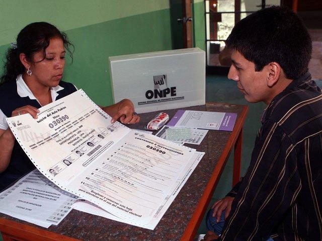 Donde votar elecciones municipales Lima 2013