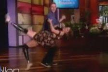 Amy Purdy una bailarina con piernas ortopedicas