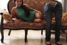 Colombiana sin piernas sueña con ser modelo