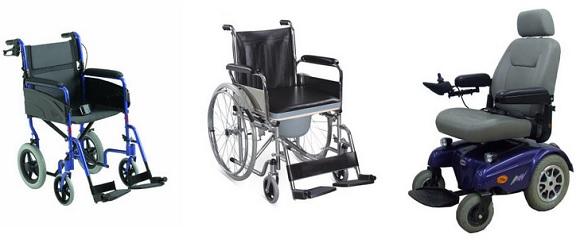 Cuidados del anciano manejo de la silla de ruedas