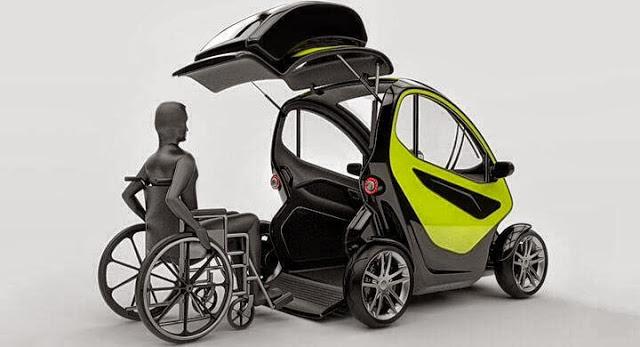 EQUAL, vehículo electrico para personas con discapacidad