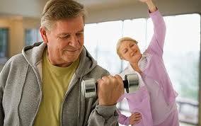 Manual de ejercicios para personas de edad avanzada
