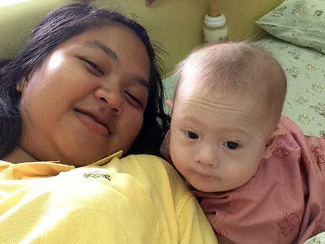 190 mil recaudados para tratamiento de bebe down