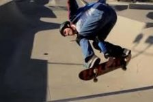 Tommy Carroll el skater ciego