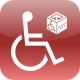 Aplicacion movil que encuentra lugares adaptados en España